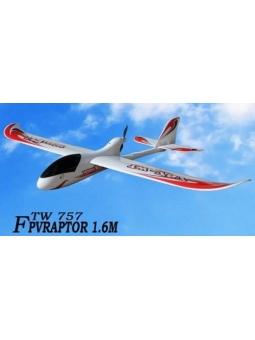 """RC Flugzeug, Elektro Segler 6 Kanal 2,4Ghz """"TW-757"""" Brushless-RTF"""