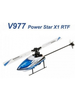 Top RC Helikopter WLtoys V977 Brushless 6CH 3D Gyro Flybarless LCD Steuerung