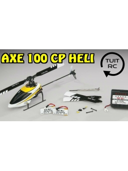 RC Helikopter Revell , Heli-Max , Axe 100 CB RTF 6CH 3D Gyro Flybarless