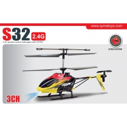 RC Hubschrauber Syma S32, S032, 2.4 GHz 3CH Helicopter mit H/L Speed-Funktion