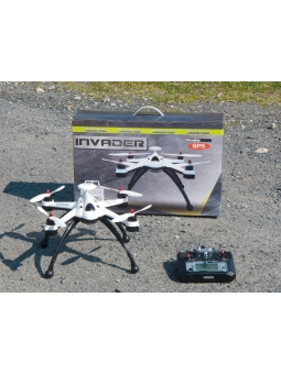 2,4GHZ GPS Quadrocopter Phantom Monstertronic MT1235 Invader Pathfinder