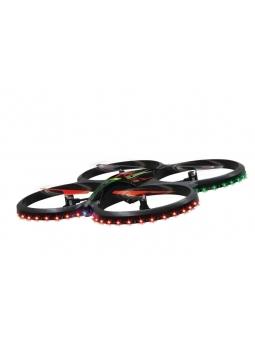 Jamara Drohne Ufo Flyscout AHP Quadrocopter Komplett LED Kamera
