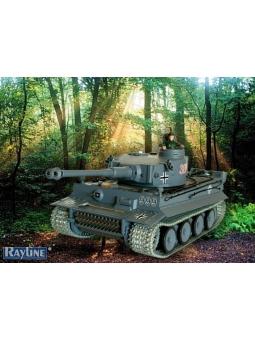 RC PANZER HENG LONG 3818-1 GERMAN TIGER I PRO-VERSION