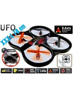 XXXL Quadrocopter 70 cm - Camera - Multicopter 129-V - 1GB M-SD 2.4GHz 6A-Gyro