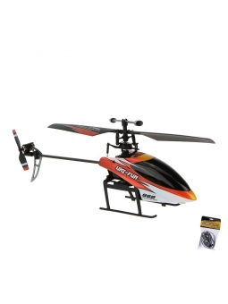 HuanQi- Rayline RC Helikopter 868-V2 Racer, 2.4G, 4CH, Gyro, Single Blade, RTF