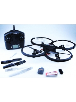RC Quadrocopter, Ufo, UDIRC U818A-1 Discovery HD Upgrade, Headless Version