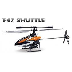 MJX F-47 / F647 Single Blade 4 Kanal 2,4 GHz Helicopter, Hubschrauber mit LCD