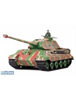 RC Panzer Heng Long 3888-1 Rauch und Sound King Tiger Tank 2.4GHz
