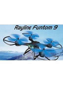 RC QUADROCOPTER Rayline FUNTOM 9 MIT WIFI FPV, 2.4 GHZ 4-KANAL