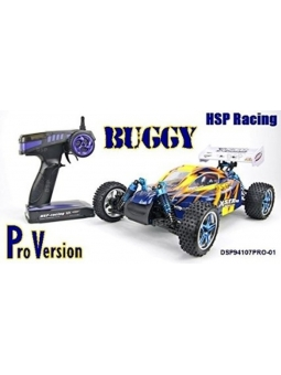 90 km/h !!! RC-AUTO HSP 94107PRO-01 XSTR BUGGY Brushless 40 x 25 x 16 cm