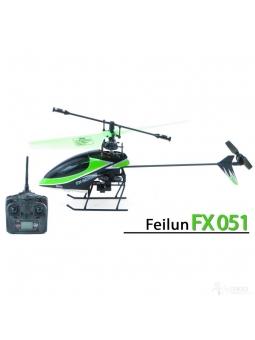 RC Feilun FX051 4-Kanal 2,4GHz Single-Rotor Helikopter, schnell und wendig