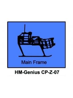 Walkera Genius CP V2-006 Landekufen mit Hauptrahmen