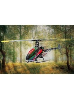 RC Helicopter  Jamara E-Rix 450 C. V2 Pro Digitale LCD 6 Kanal Fernbedienung, ARF