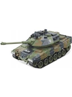 """RC Panzer """"German Leopard grün"""" 1:20 mit Schuss und Sound-B11"""