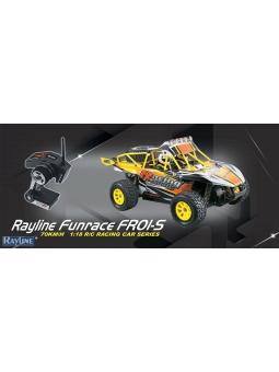 RC Auto Rayline Funrace 01S-E 4WD 70kmh RC Brave Pro Car