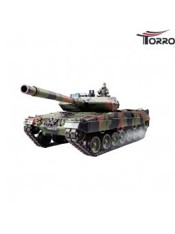RC Panzer Leopard 2A6 Panzer 2.4 GHz 1/16 Torro-Edition 6mm BB