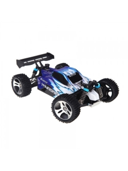 RC Buggy 1/18 WLtoys A959B 4WD 2.4GHz, 50+kmh Sport Vortex Blau oder Grün