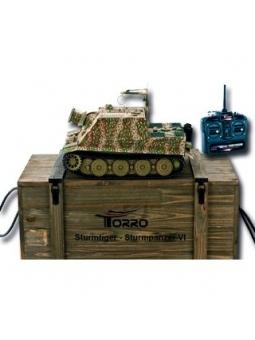 Sturmtiger Panzer mit Metallunterwanne BB Hinterhalttarn