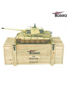 WK II. Modell - Königstiger Sd. Kfz. 182* Tiger II. * Profi-Edition* 6mm Schussversion in Desert mit 360° Turmdrehung