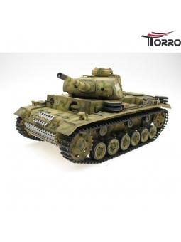 Panzer III. Ausf. L Upgrade & Airbrush Torro Pro-Edition in wunderschöner Airbrush Lackierung Tarnfarbe.