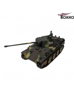 Panther Ausf. G Panzer Maßstab 1:16 mit detailgetreuer Airbrush Lackierung in der IR 2.4 GHz Version.