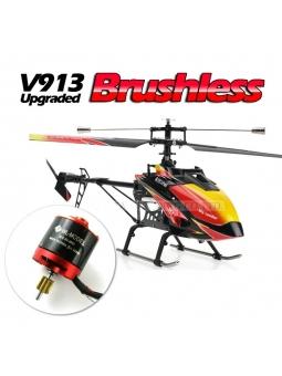 RC Helicopter WL V913 Pro vs. MT400 Pro 2.4 GHz, 4CH, Brushless Singleblade Hubschrauber