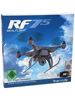 Great Planes RealFlight RealFlight 7.5, Edition mit kabelloser Schnittstelle für Flugsimulator ferngesteuerter Flugmodelle