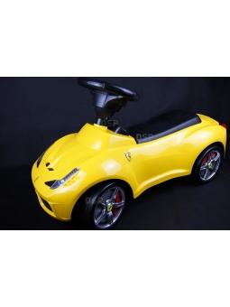 Ferrari 458 Bobbycar Rutschauto Lizenz-Auto Kinderfahrzeug Rutscher Rot od.Gelb