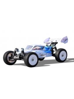 RC Buggy Amewi 22299 Planet Pro 4WD Buggy RTR, 1:8, 2,4 GHZ, Weiß/Blau