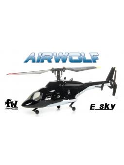 RC Helicopter Esky F150 V2 FBL Mini Hubschrauber, Airwolf RTF