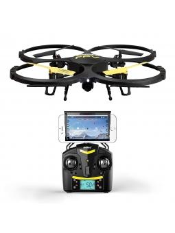 UDI U818A Verbesserte WIFI FPV Drohne mit 2MP HD Kamera mit 2 Batterien