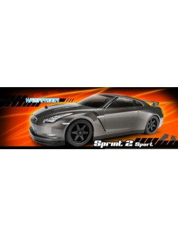 RC HPI Racing Car Sprint 2 Sport 1:10 4WD - RTR (Nissan GT-R R35)