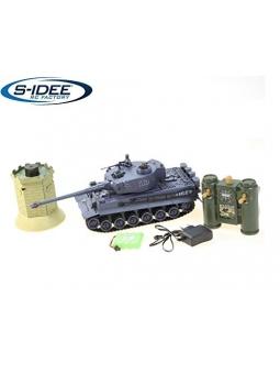 RC Panzer Battle Panzer German Tiger 1:28 mit integriertem Infrarot Kampfsystem 2.4 Ghz RC R/C