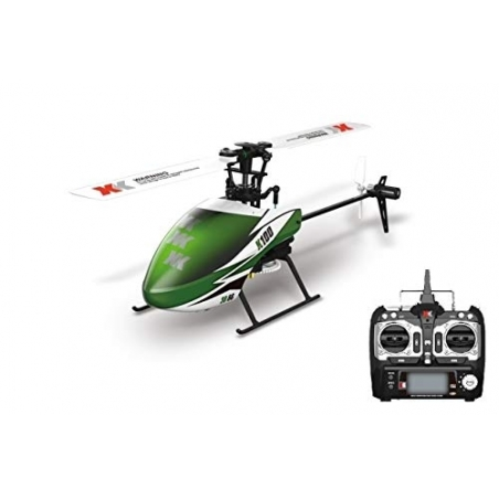 RC Helikopter XK Falcon K100 6CH 3D 6G System RTF RC Helikopter