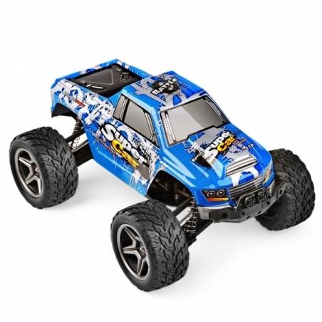Fm-electrics| WL12402 4WD 1:12 Monstertruck ferngesteuert mit LiPo Akku und 50 km/h schnell!