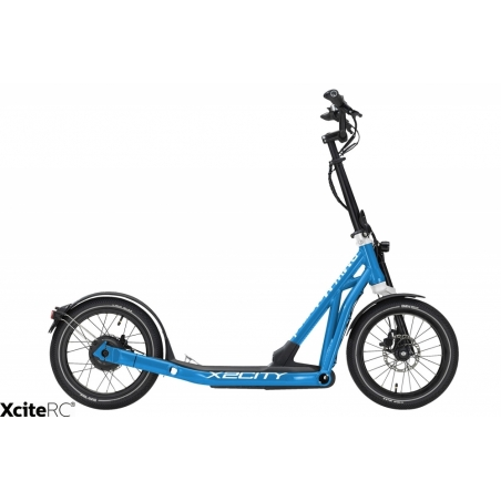 E-Scooter BMW X2 City blau