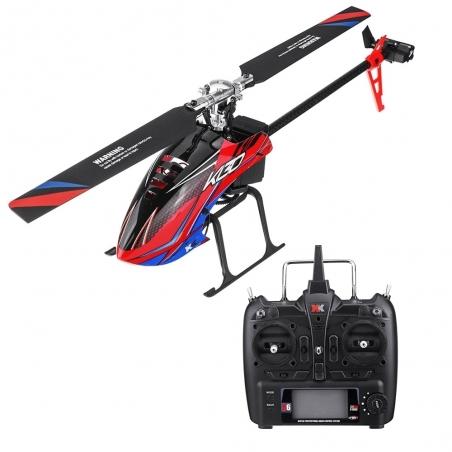 RC Helicopter XK K130 6 Kanal 3D6G Flybarless Helikopter RTF