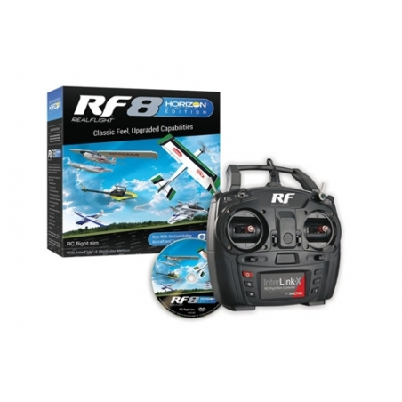 Real Flight 8 Horizon Hobby Edition inkl. Interlink-X Controller
