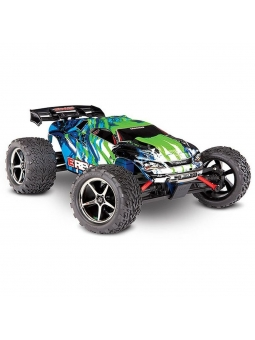 Traxxas E-Revo 4x4 Green Brushed 1:16 RC model car Electric Monster Truck 4WD) RTR 2.4 GHz