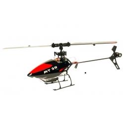 RC Helicopter MT 3DX Kunstflug Hubschrauber, 6CH, 2,4 GHz, Baugleich WL V922