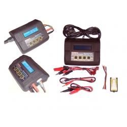 MT680 Ladegerät 80 Watt für Lipo, LiFe, Li-Ion, NiCd u.NiMh Akkus bis 7 Zellen