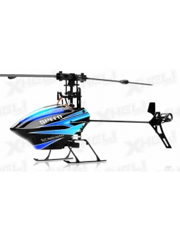 RC Heli WL Toys V922 2.4 GHz 6-Kanal Flybarless 3D RC Hubschrauber , RTF - Set