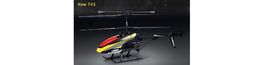 MJX T-43, T643  2.4GHz  RC Helikopter mit Cam
