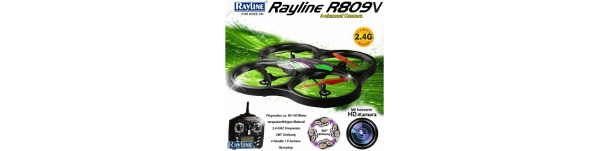 RC Quadrocopter Rayline R809V