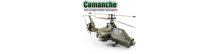 FX035 Comanche & FX060 Militär RC Helikopter